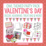 Valentine's Day {Owl Themed Party Pack}