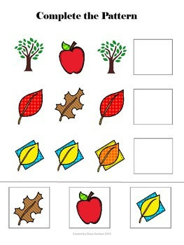 Whoo's Ready for Fall? Math Concepts