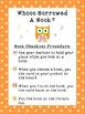 Owl Themed Book Checkout/Library Rules Posters