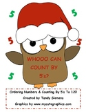 Whooo Can Count By 5's? Ordering Numbers 5-120 with Santa Owls