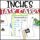 Measurement Task Cards - Inches