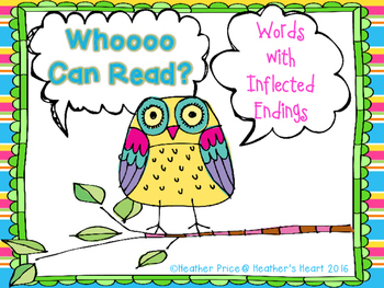 Whooo Can Read Words with Inflected Endings