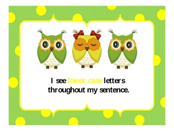 Whooo Has A Writer's Eye? Owl Posters