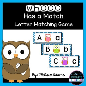 Whooo Has a Match?
