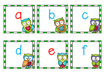 Whooo Knows Letters???