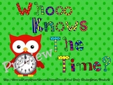 Whooo Knows The Time? Matching Cards