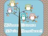 Whooo Knows Their Numbers? (1-15)