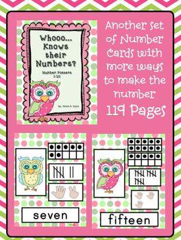 Whooo... Knows Their Numbers Posters