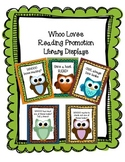 Whooo Loves Reading? Owl Library Display Signs