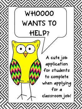 """Whooo"" Wants To Help Job Application- Free!"