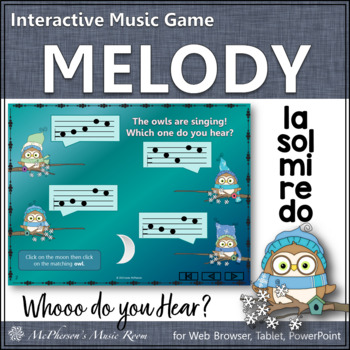 Do Re Mi Sol La Interactive Melody Game {Whooo do you hear?}