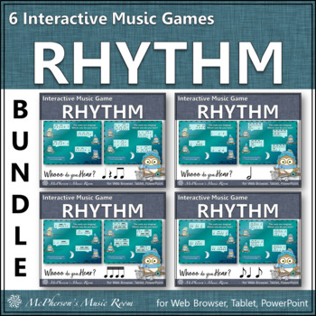 Whooo do you hear?  Rhythm Bundle - Interactive Music Games