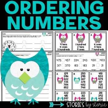 Ordering Numbers Less Than 1,000
