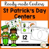 Ready-Made St. Patrick's Day Centers for Kindergarten
