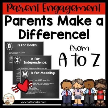 Parents Make A Difference with Reading!