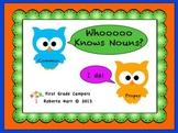 Whooooo Knows Nouns?