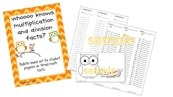 Whoooooo Knows Multiplication and Division Facts? A Fact Fluency Daily practice
