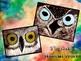 """Whoooooo's"" looking at You! Owl Eyes : Exploring Charcoal and Chalk Pastel"