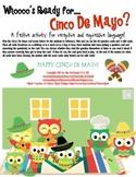 Speech and Language Activity for Cinco De Mayo?
