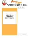 Whoooo's Ready to Read? Owl Storytime Lesson Plan