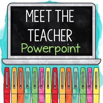 Meet the Teacher Presentation