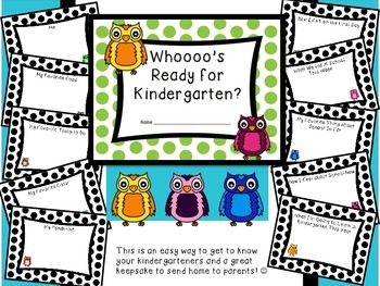 Whooo's Ready for Kindergarten? Back to School Book, Owl Style