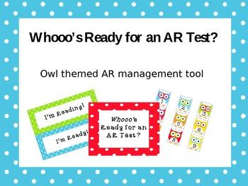Whooo's Ready for an AR Test