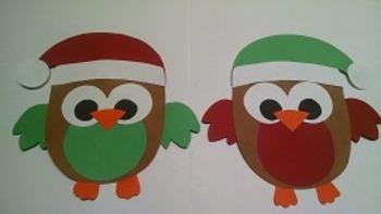 Whooos Santa's Favorite Little Owls