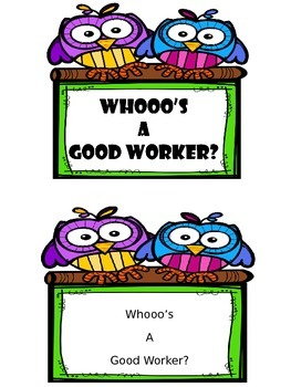 """""""Whooo's"""" a Good Worker?"""