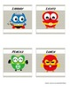 Whooo's a Super Helper job chart ~ Super Hero Owls