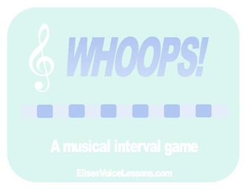 Whoops!  Interval game