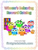 Whoo's Behaving? Editable Behavior Reward Catalog Kit