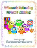 Whoo's Behaving? Editable Behavior Reward Catalog Kit