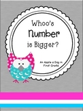 Whoo's Number is Bigger?