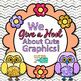 Whootin' Owls Clip Art {Back to School Graphics for the First Day of School}