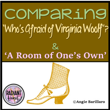 Who's Afraid of Virginia Woolf & A Room of one's own  Worksheets