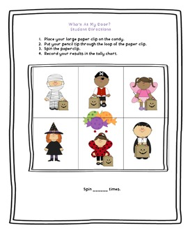 Who's At My Door? A Trick-Or Treating Graphing Activity!