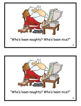 Who's Been Naughty? Guided Reader (au diphthong)