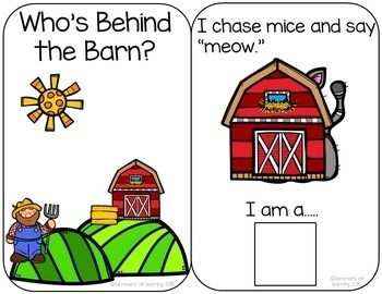 Who's Behind the Barn? Interactive Farm Book