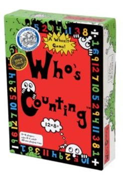 Who's Counting Math Card Game