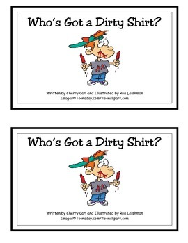 Who's Got a Dirty Shirt? Guided Reader (Bossy R and ay Wor
