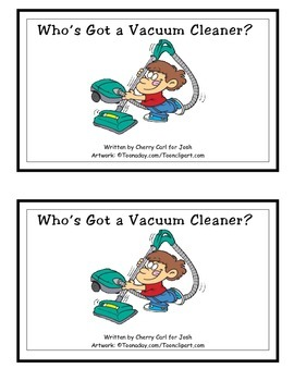 Who's Got a Vacuum Cleaner? Guided Reader (-ot family)