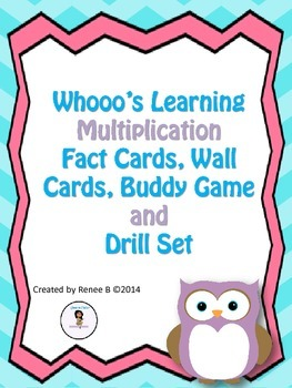 Who's Learning Multiplication - Full Multiplication Fact Pack