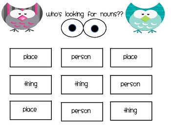 Who's Looking for Nouns?