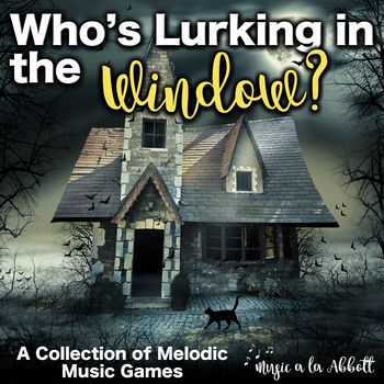 Who's Lurking in the Window? A Bundled Set of Interactive PDF Games for Melody