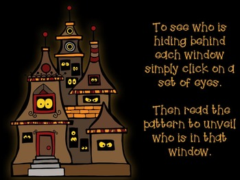 Who's Lurking in the Window? Four interactive PDF games to practice fa