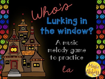 Who's Lurking in the Window? Four interactive PDF games to practice la