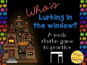 Who's Lurking in the Window? Two interactive PDF games to practice ti-tika