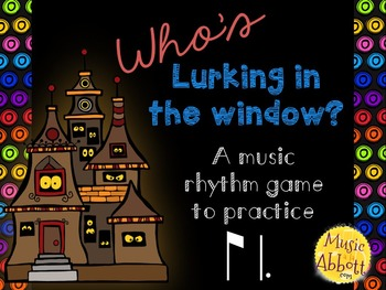 Who's Lurking in the Window? Two interactive PDF games to practice ti-tom/ti-tam