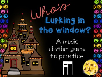 Who's Lurking in the Window? Two interactive PDF games to